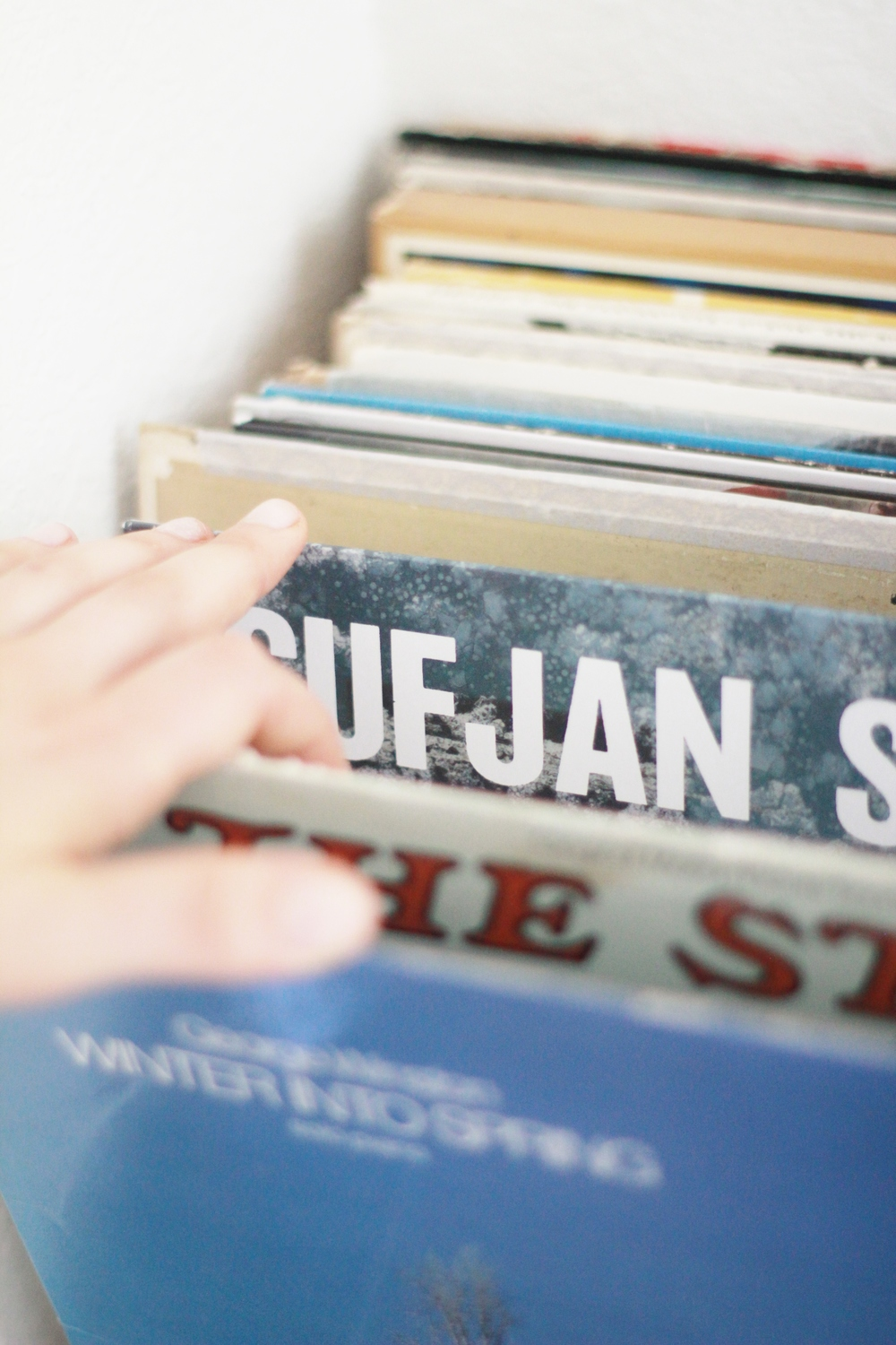 the rhythm of records and learning to be quiet | seekthewelfare