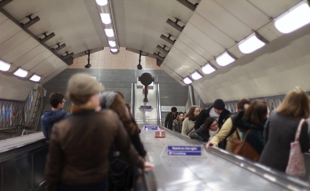 saint paul's underground station, london, england | seekthewelfare