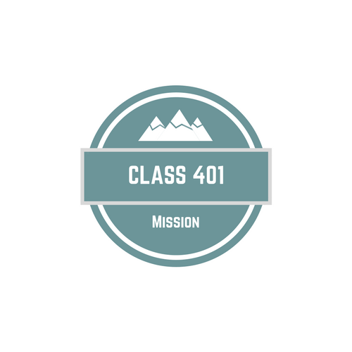 Mission - Class 401 will help you discover your calling and how to become more involved in your church and your community.