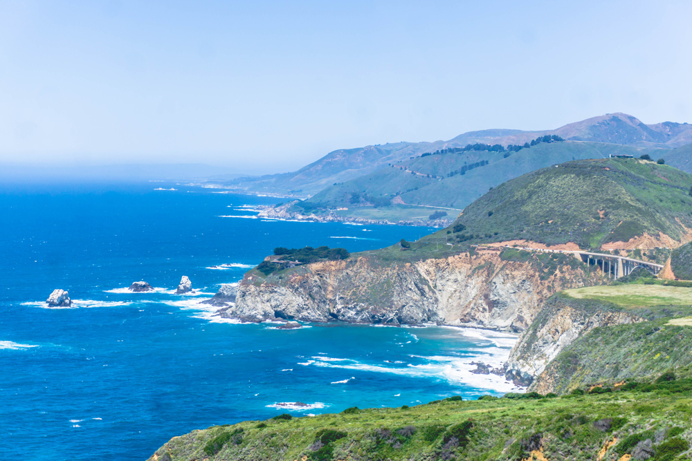 The best part about Big Sur is that your drive up the coast looks like this majority of the way!
