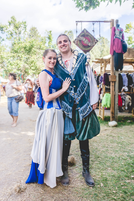 Renaissance Faire couple