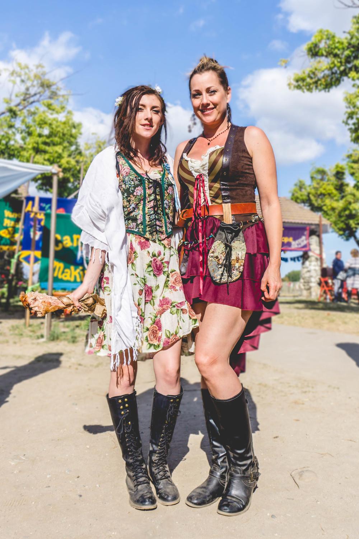 Renaissance Faire girls