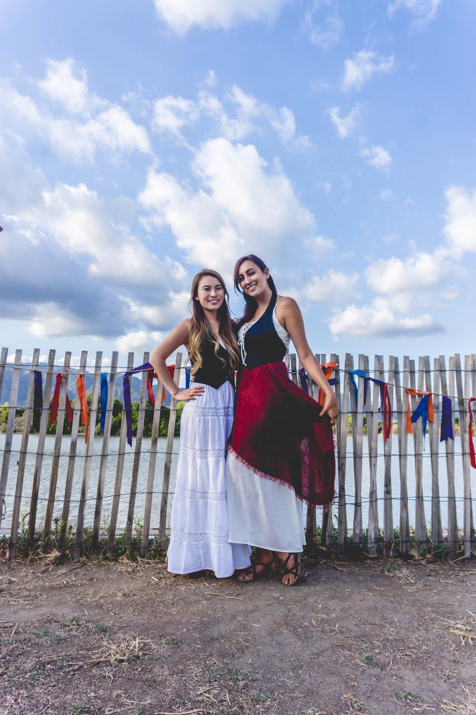 Renaissance Faire ladies