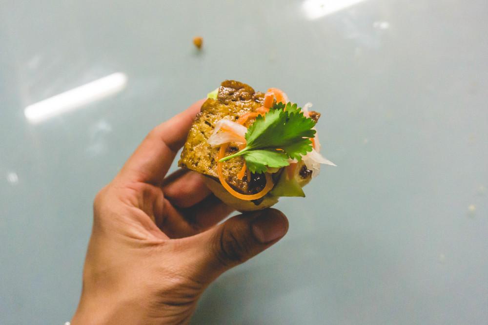 Tofu Banh Mi sampler