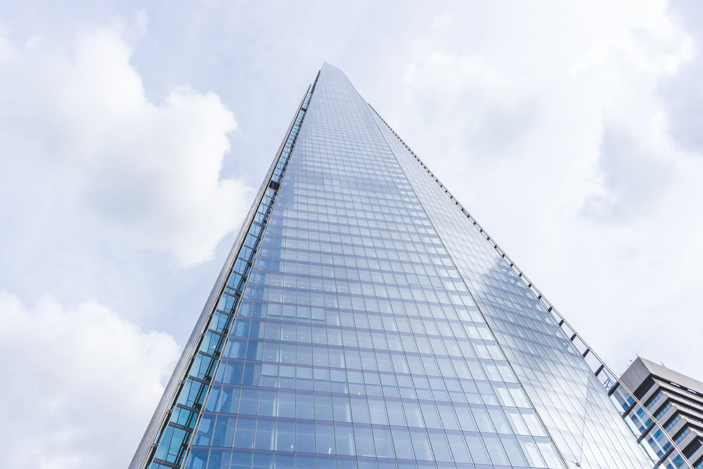 The Shard is the Tallest building in Europe