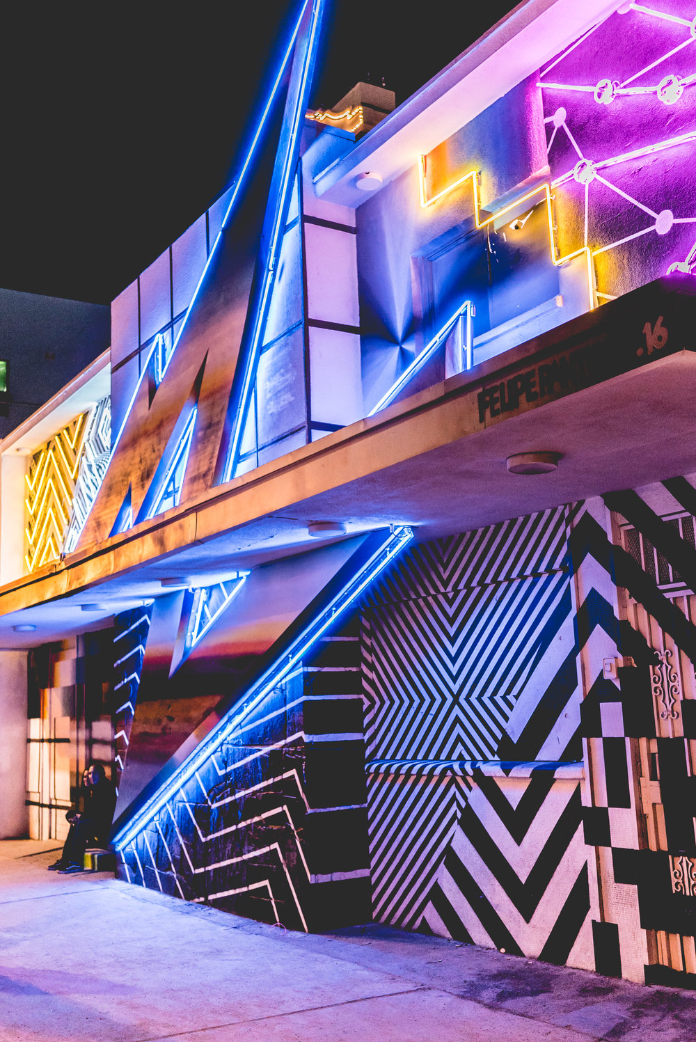 Felipe Pantone's first 3D installation