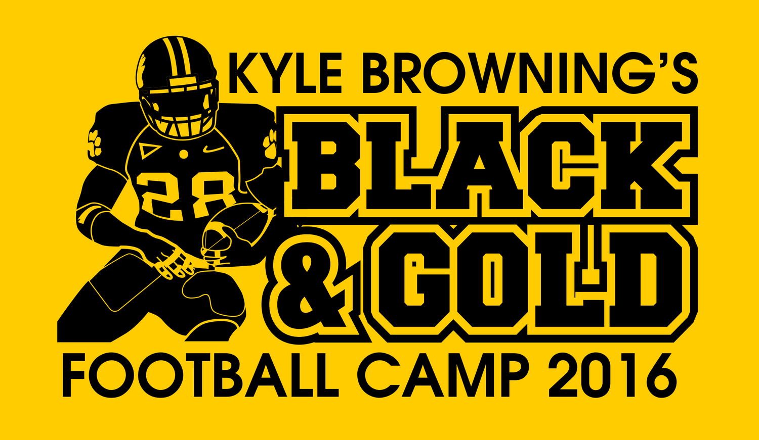 Black & Gold Football Camp