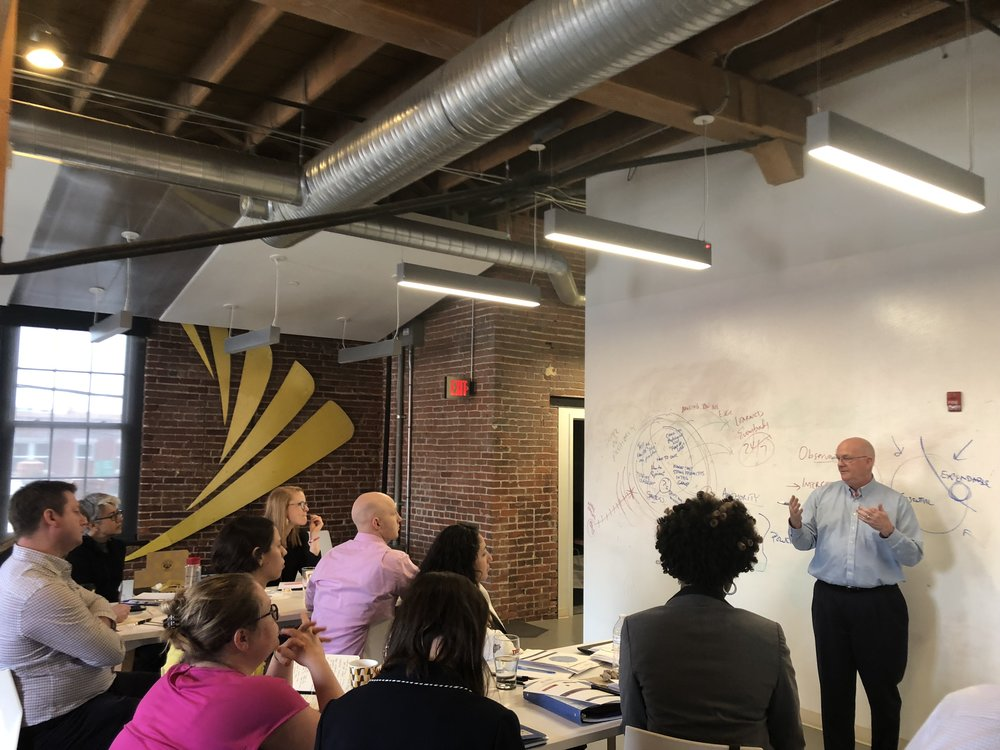 Results-based leadership workshop with Jeff Lawrence of Org Agility Partners