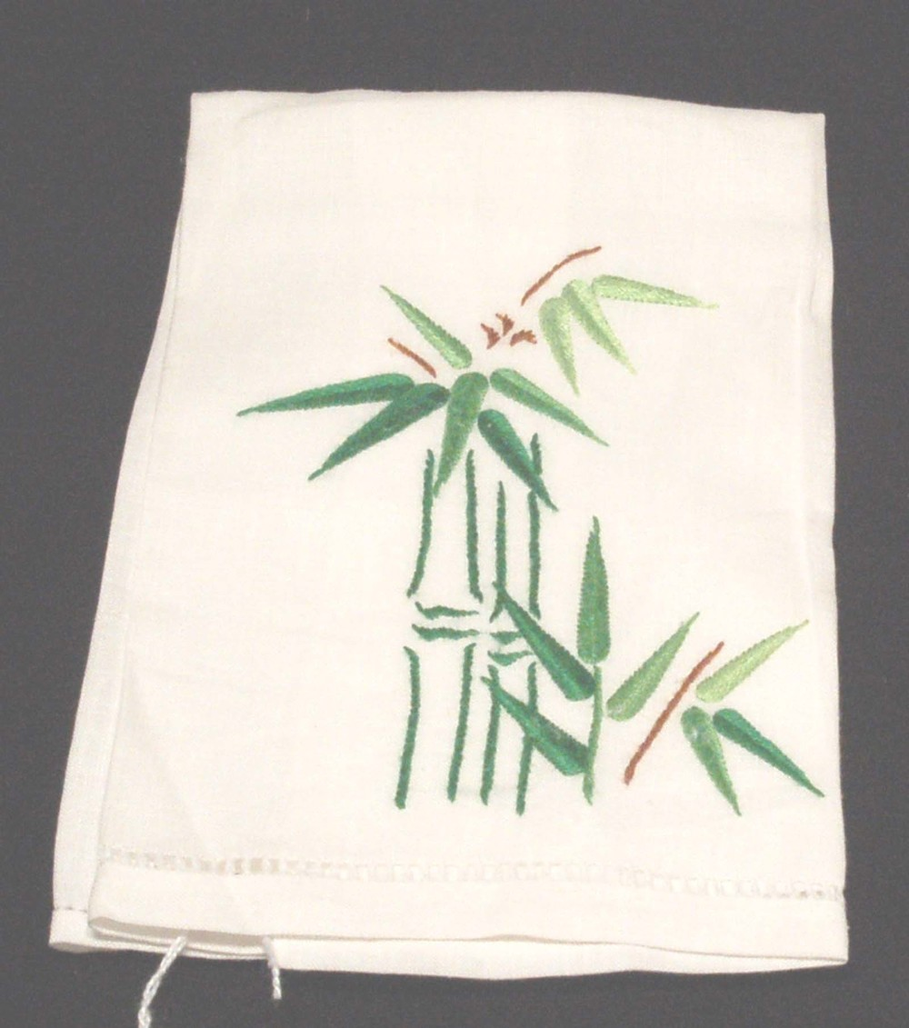 Hand towel with bamboo-$6.00