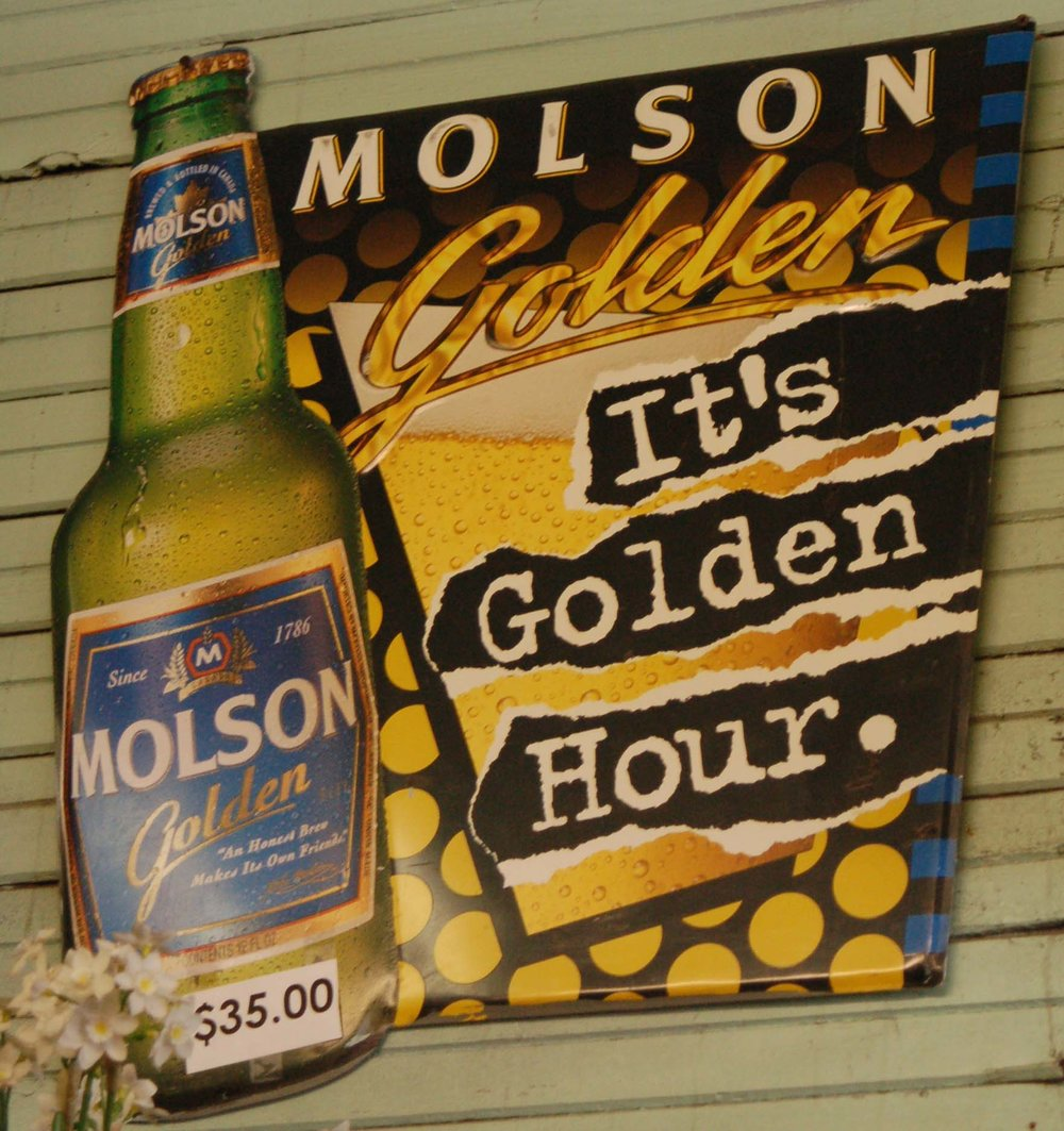 Molson Golden Sign