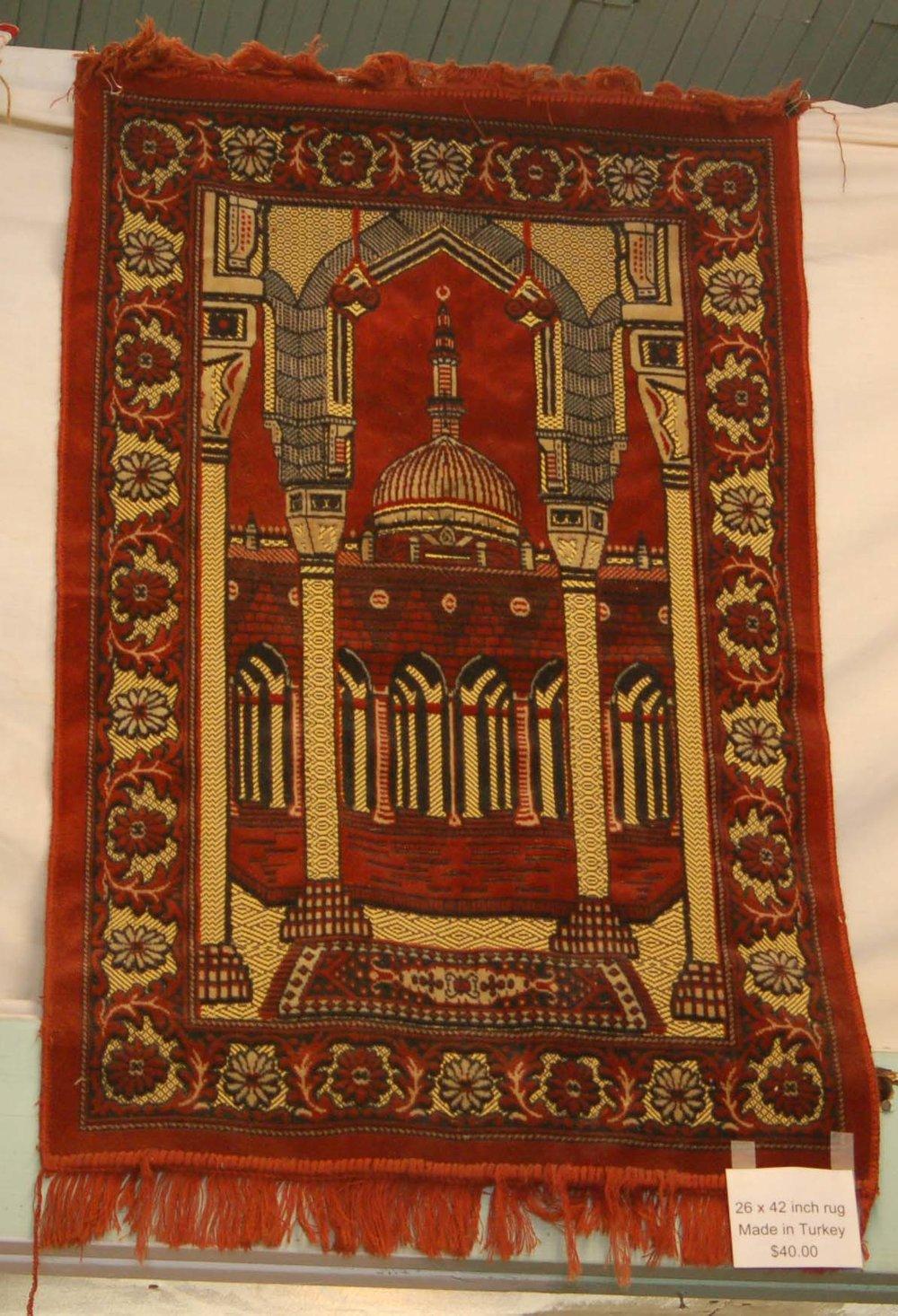 Rug Made In Turkey