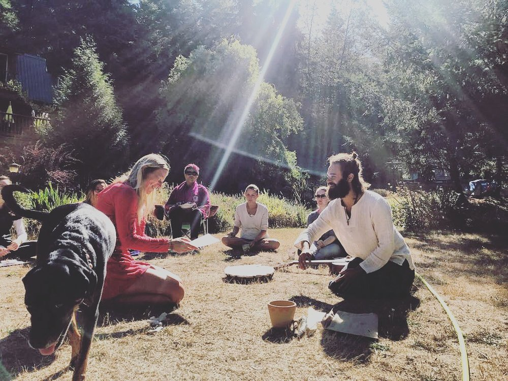 divine light energy healing shamanic training graduation.JPG