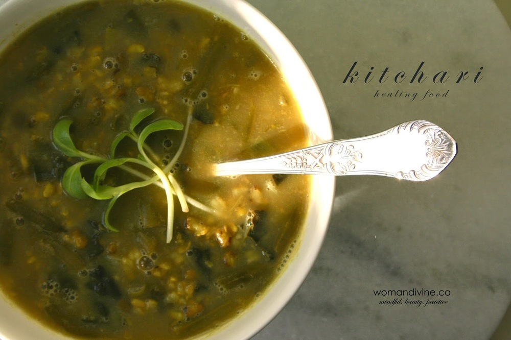 Kitchari- healing food