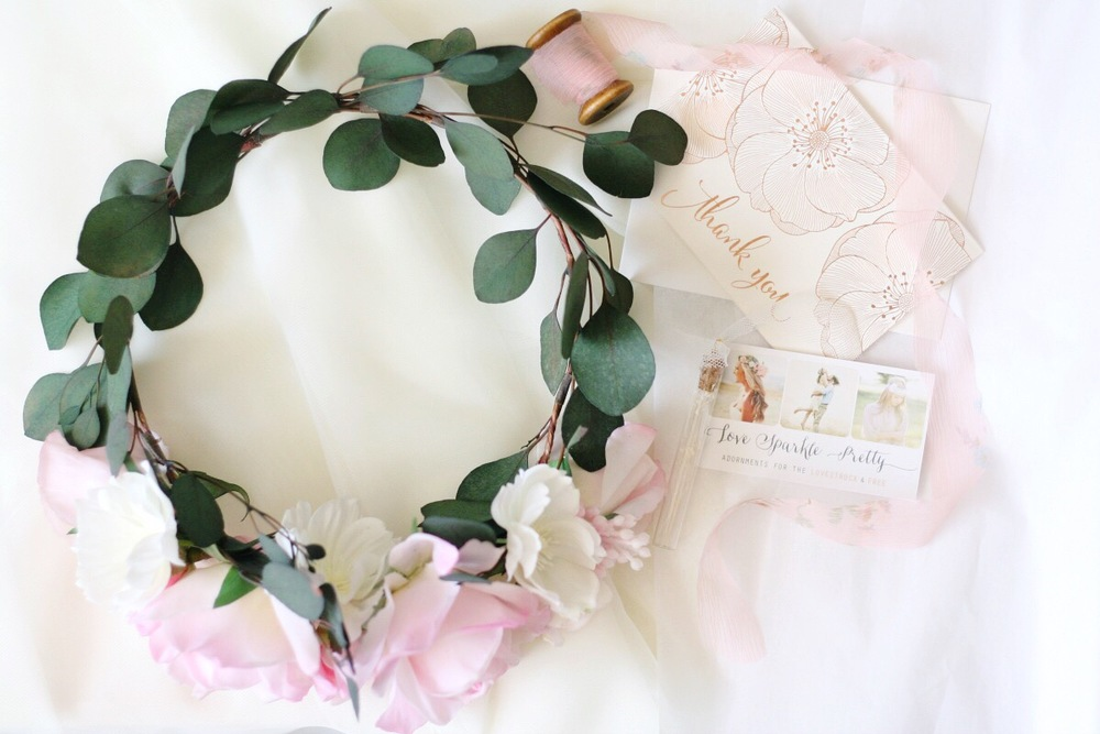 flower crown packaging