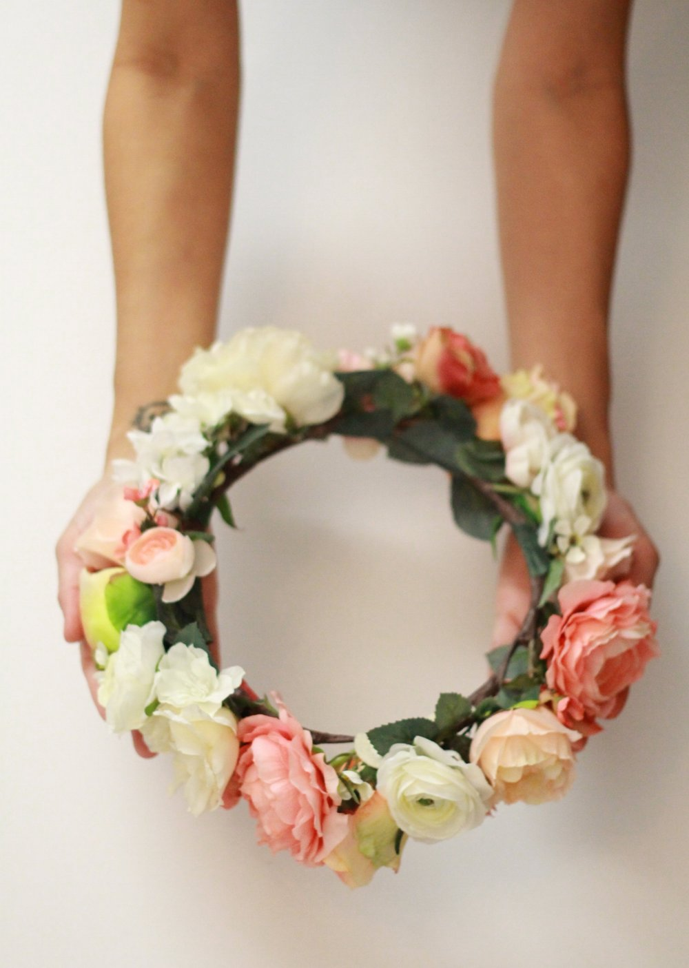 honeymoon flower crown by Love Sparkle Pretty