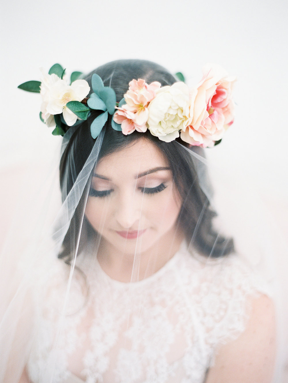 flower-crown-bridal-hairstyle-with-veil