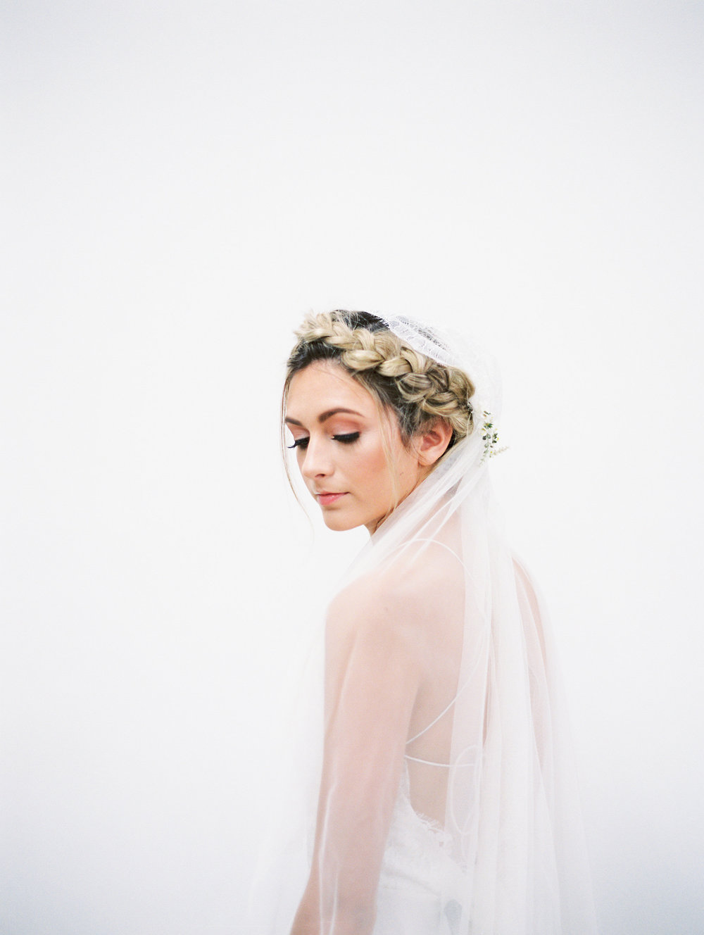 floral-cap-veil-bridal-braided-hairstyle-updo