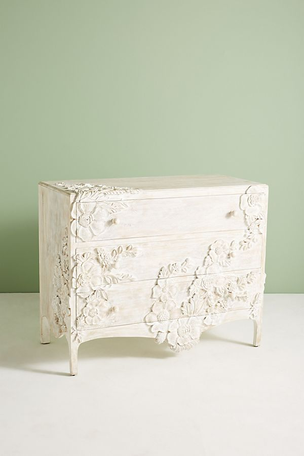 Floral Dresser from Anthropologie