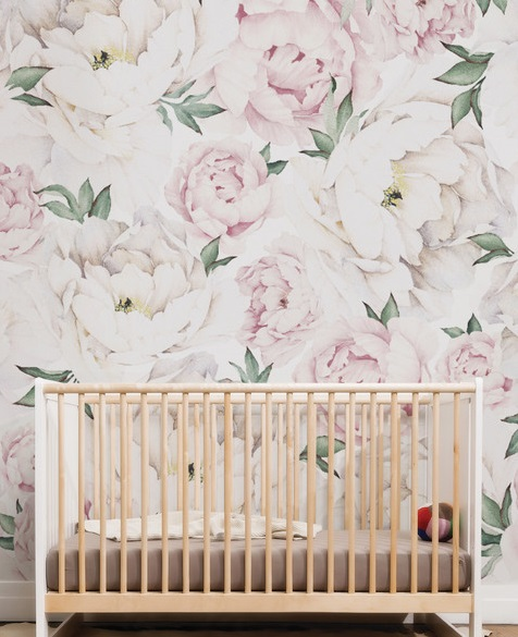 Peony Wallpaper by Houzz