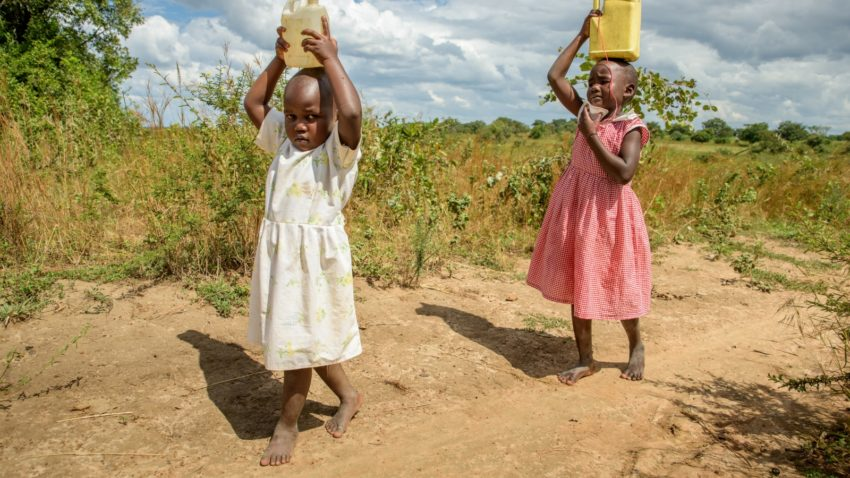 In Africa, the daily distance for water is 6K one-way
