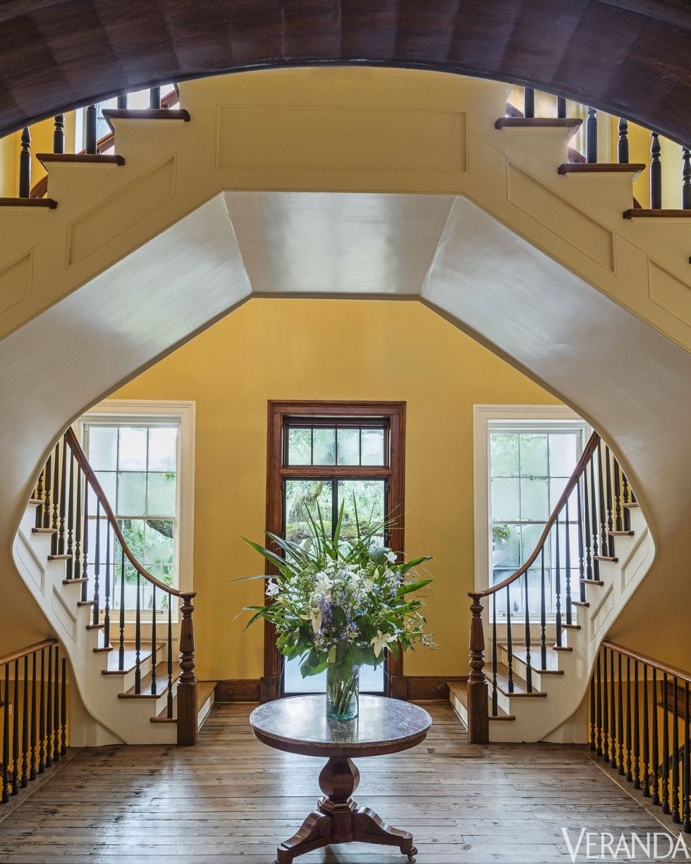 Main entry & staircase  Photo captured by Veranda Magazine