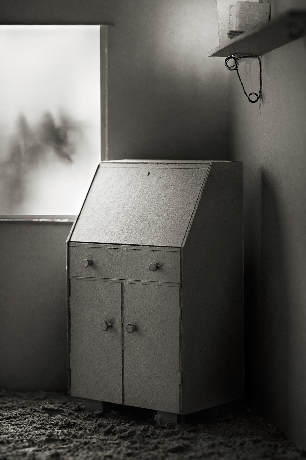Like A Thief In The Night   Materials:  Inkjet Print on Museo Paper   Date Created:  2012, reworked 2014   Size:  6 x 9 inch