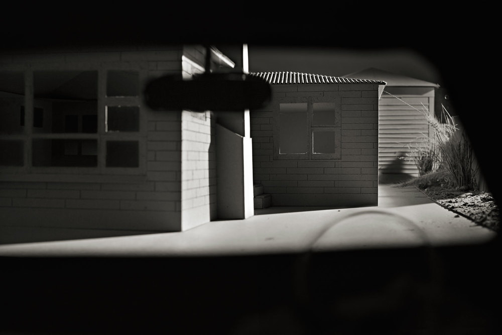 Like A Thief In The Night   Materials:  Inkjet Print on Museo Paper   Date Created:  2012, reworked 2014   Size:  13.5 x 9 inch