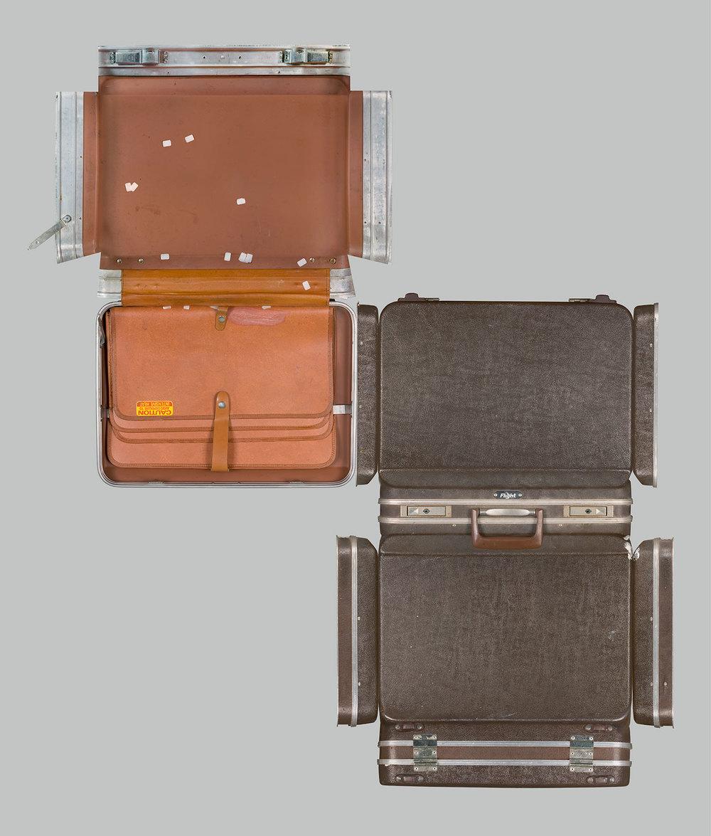 Briefcase, 256 Fergusson Drive   Medium:  Lightjet print on metallic paper ,     Size:  127 x 150cm,  edition of 6
