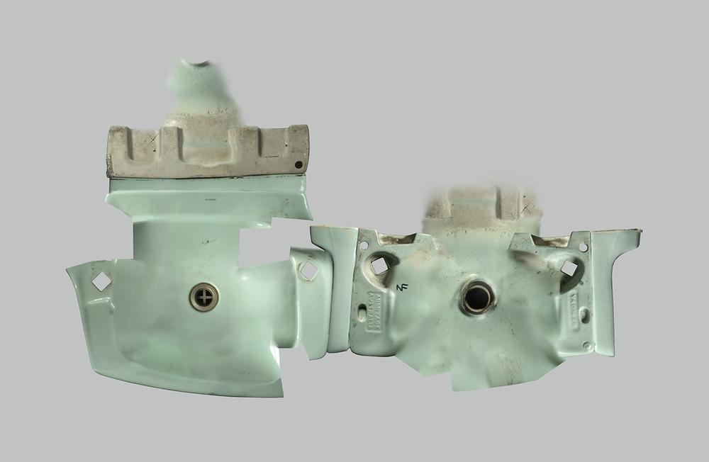 Basin II, 256 Fergusson Drive   Medium:  Lightjet print on metallic paper   Size: 150 x 110cm   Limited edition:  6