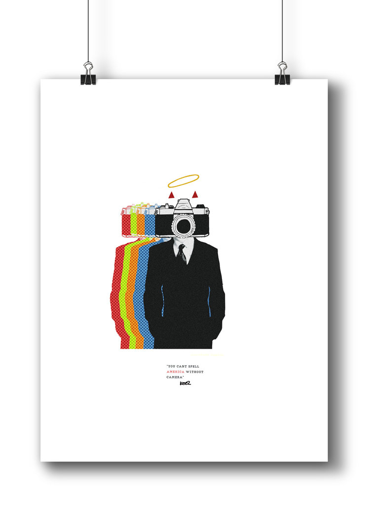Big Brother 18 X 24 Art Print The Keez Design