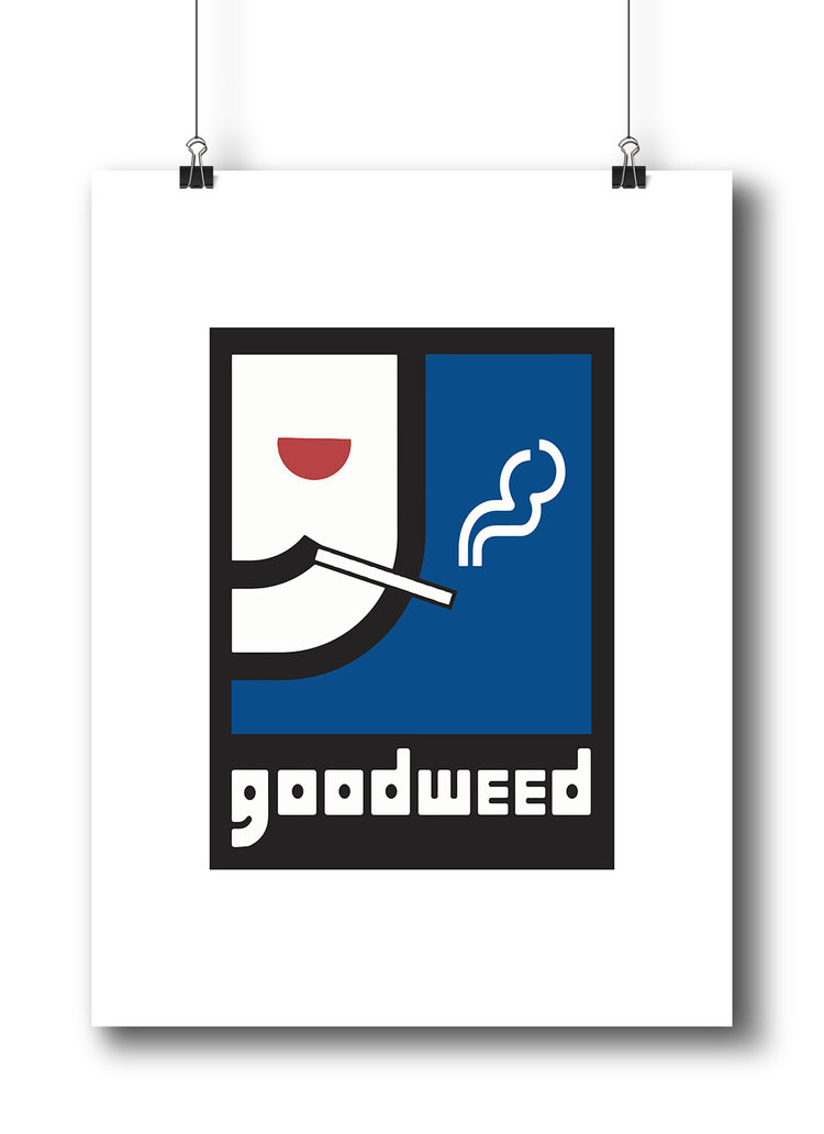 Goodweed 18x24 Art Print The Keez Design
