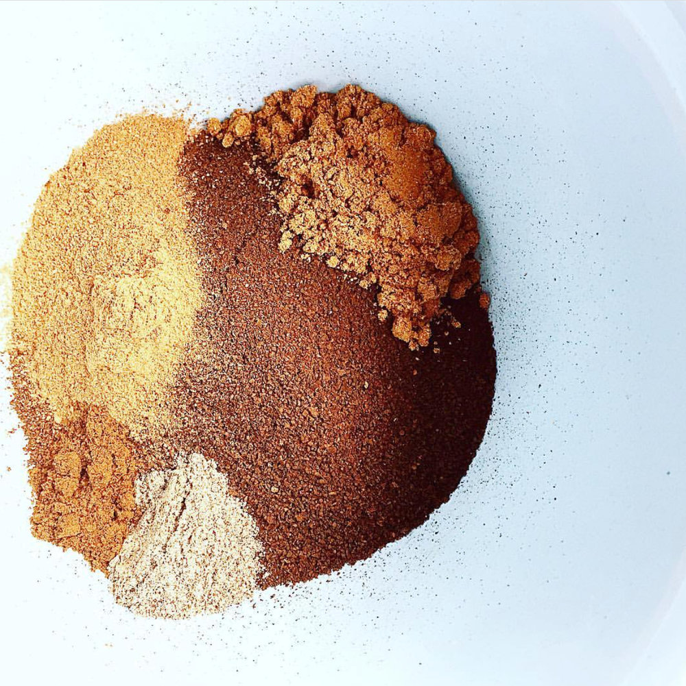 Wattleseed spiced coffee bombs