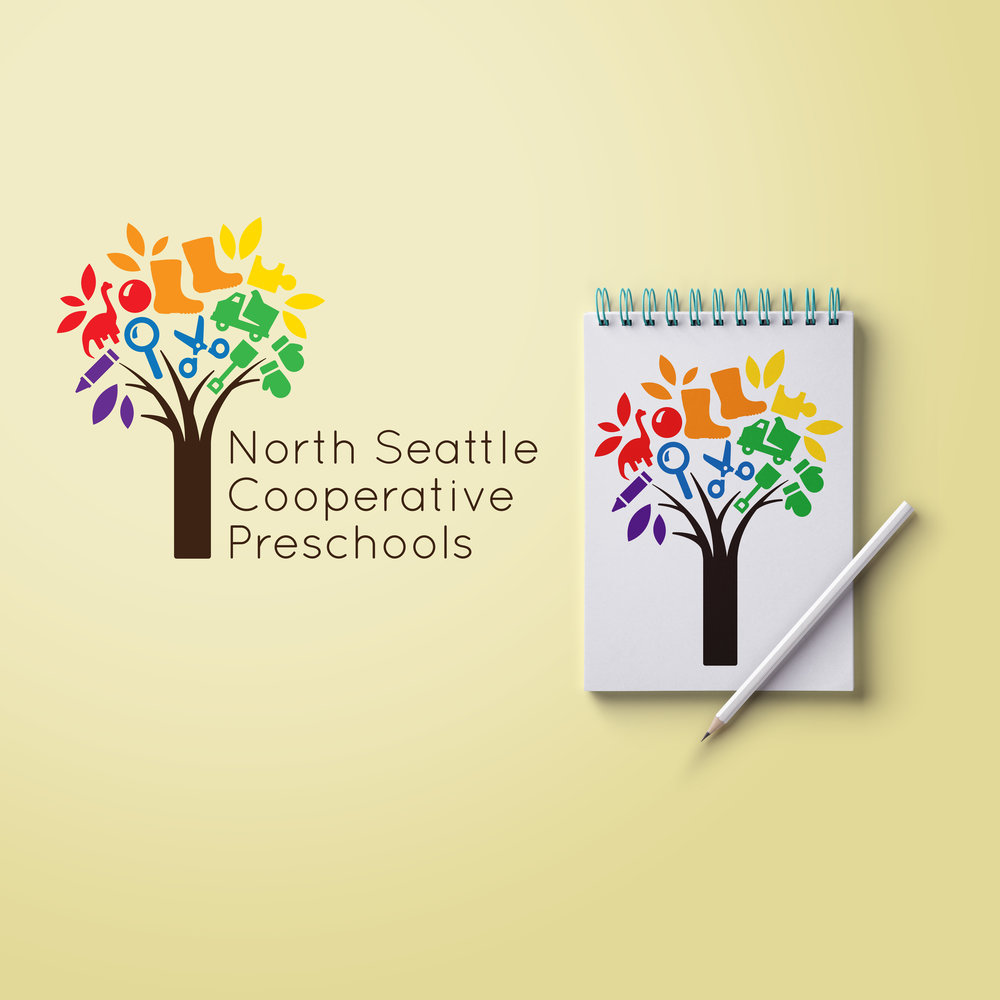 Logo Redesign - North Seattle Cooperative Preschool System
