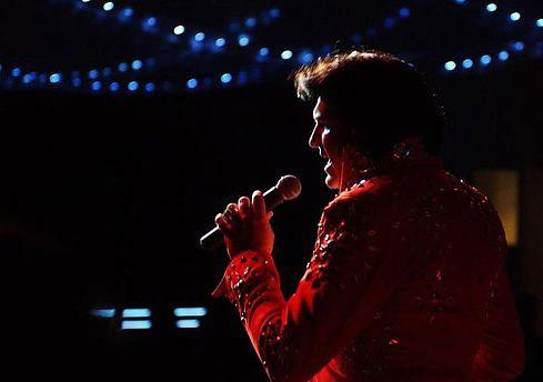 John Elvis Collins on Stage