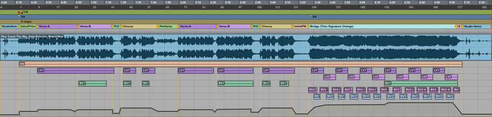 [Click to enlarge image]  Song structure/composition/instrumentation (Pro Tools)