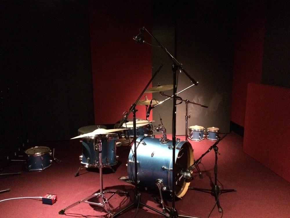 Drum setup for jam session