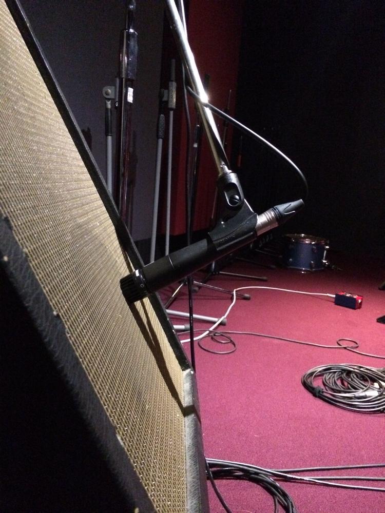 Amp setup for jam session
