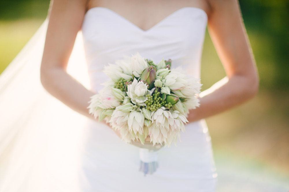 Blushing Bride bouquets – made with love by Sharna.