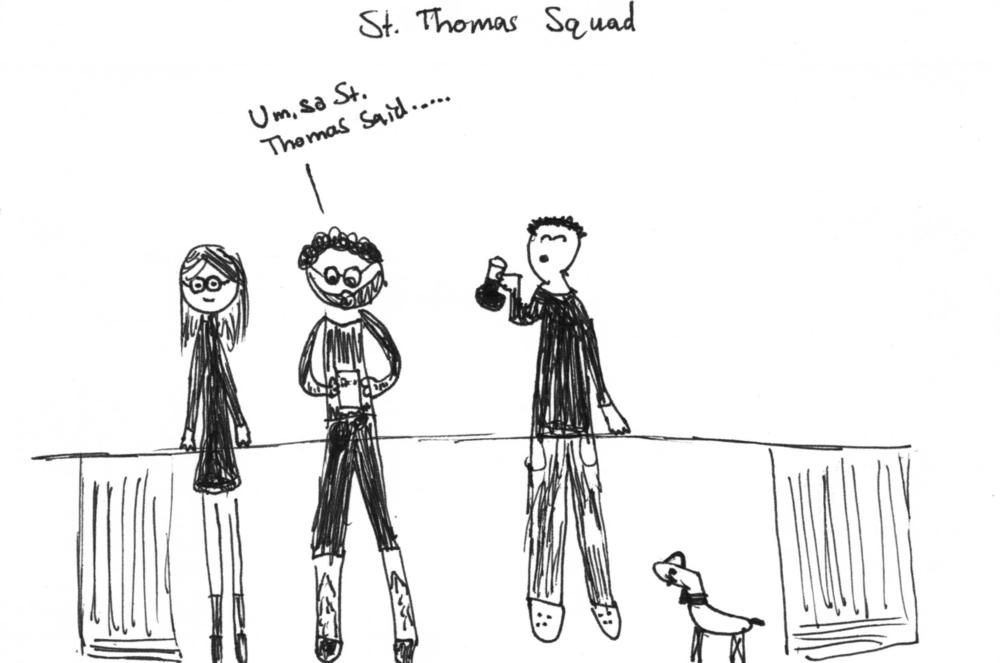 A Meeting of a St Thomas Squad — Stella