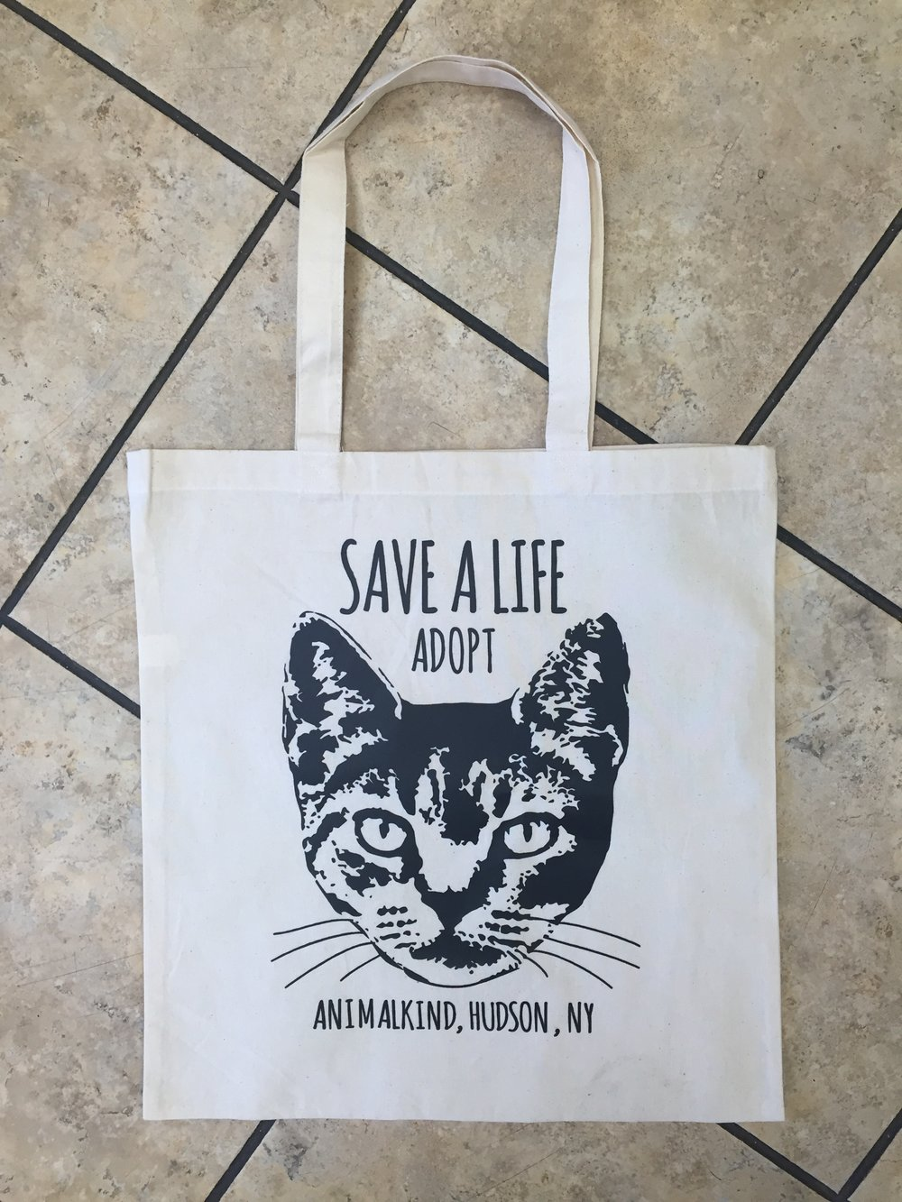 Raise $50.00 or more and get your free Team ANIMALKIND tote bag.
