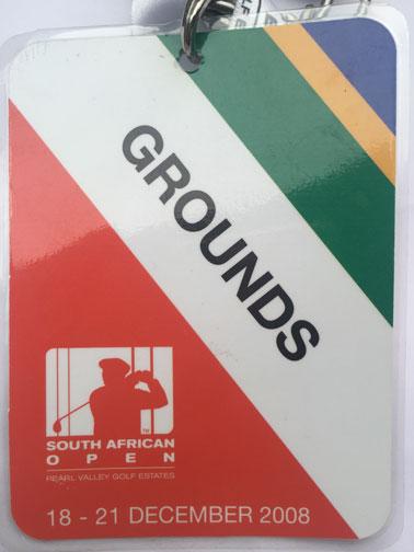 SA Open golf