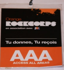RockCorps France Marseille -Old Mutual