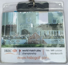 HSBC World Match Play