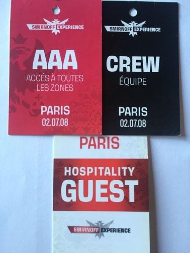 Smirnoff Experience Paris