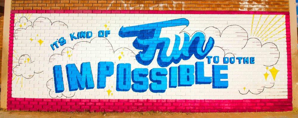 Mural refurbish