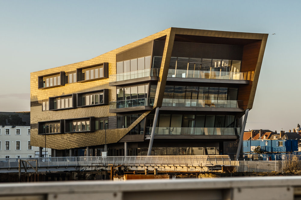 The C4DI building.