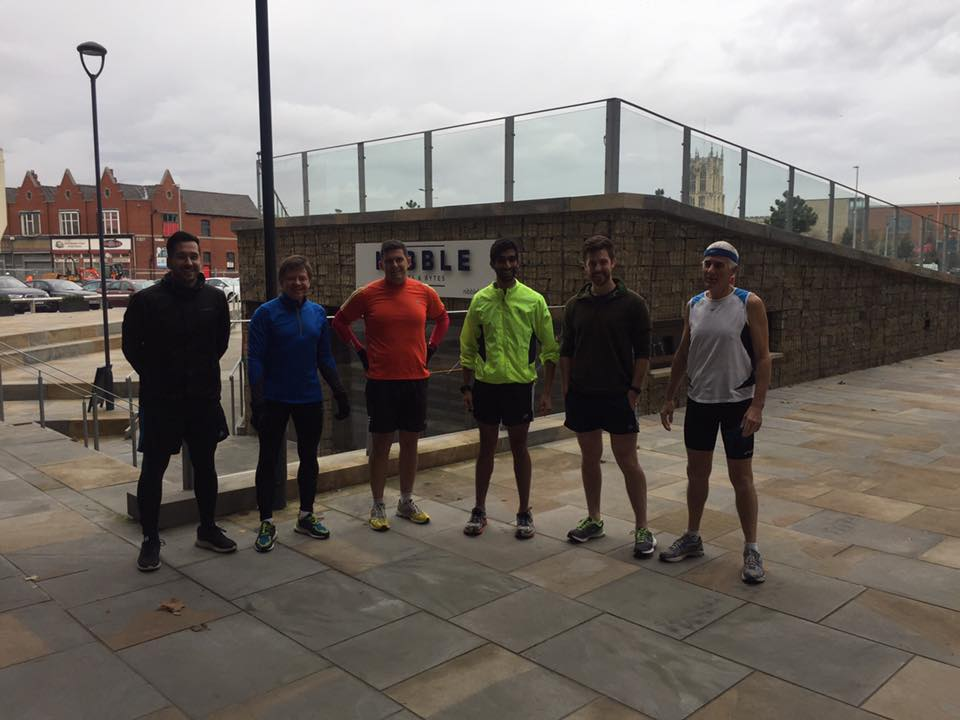 Some of the C4DI Running Club
