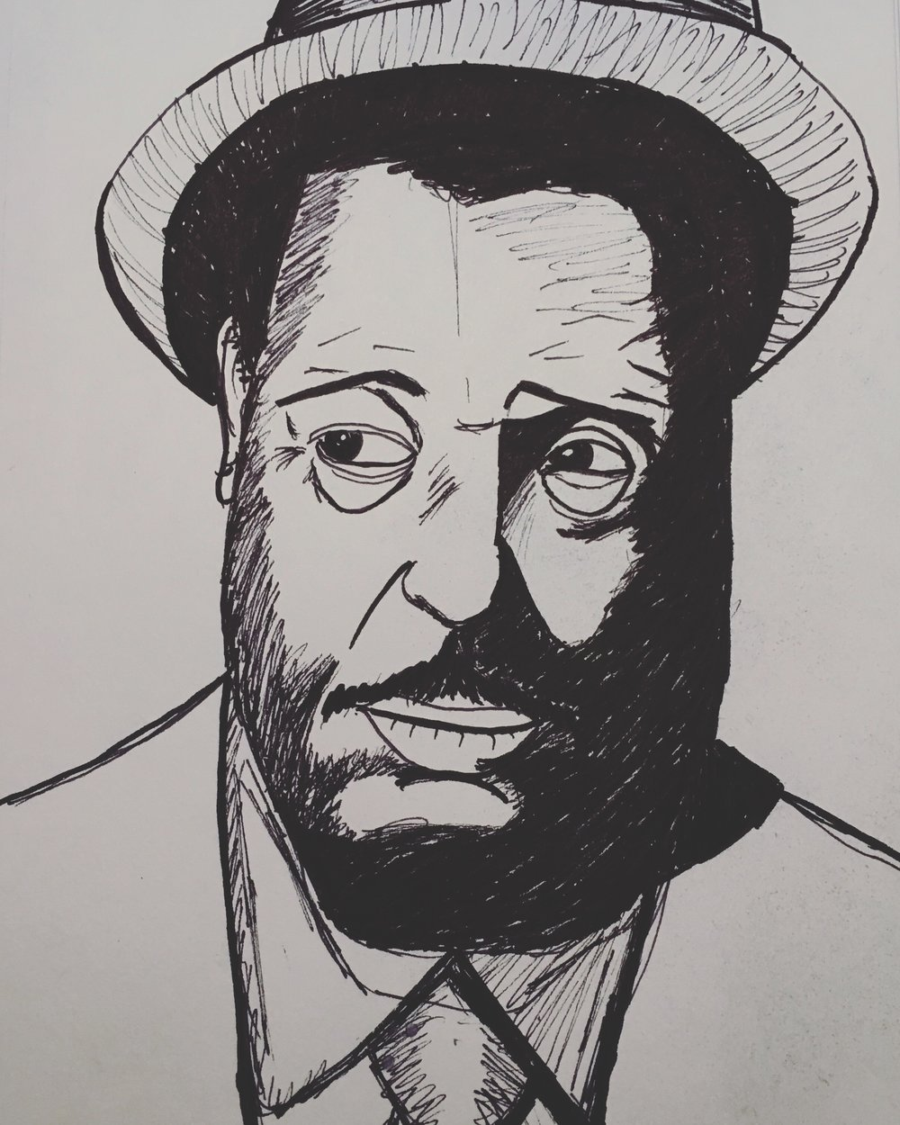 portrait of Duke Ellington