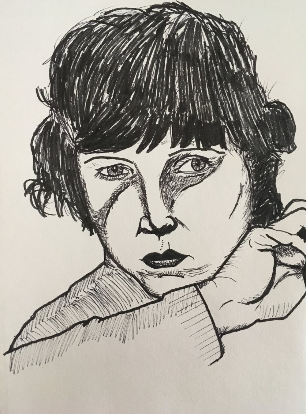 portrait of Lotte Lenya