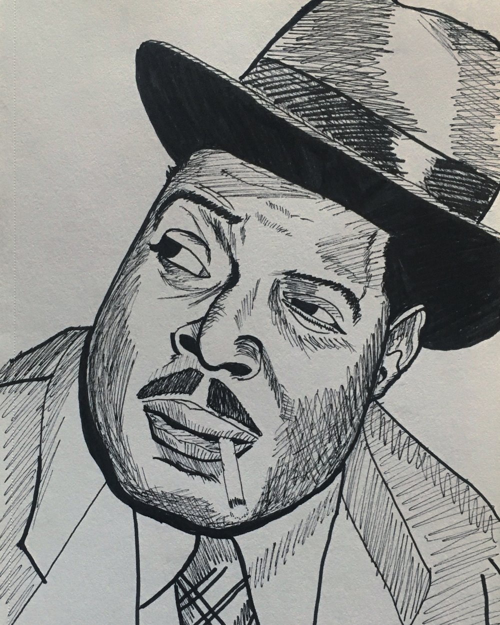 portrait of Count Basie
